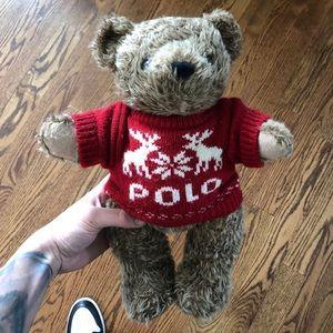 Ralph Lauren Polo Teddy Bear 1998